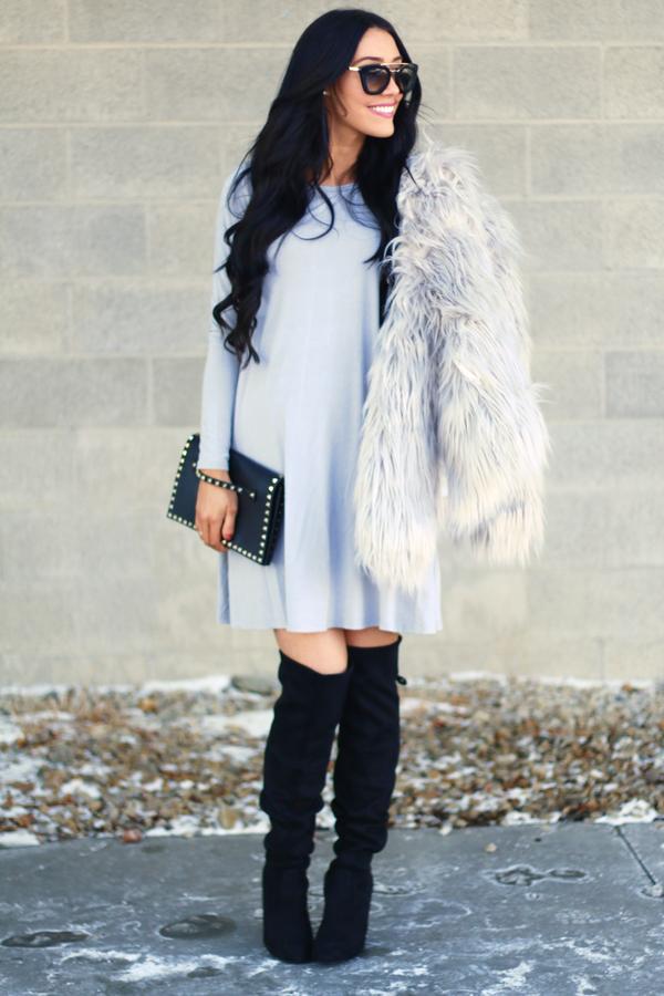 Simple Babydoll Dress