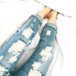 Destroyed Denim Under $20