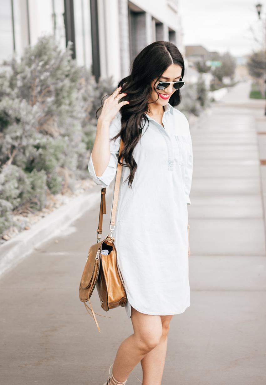 Shirt Dress - 4