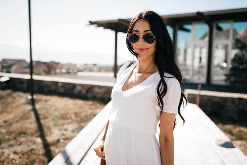 Wayf White Dress - 12