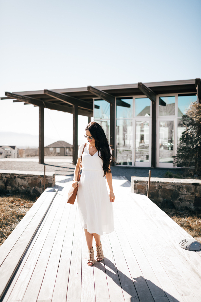 Wayf White Dress - 3