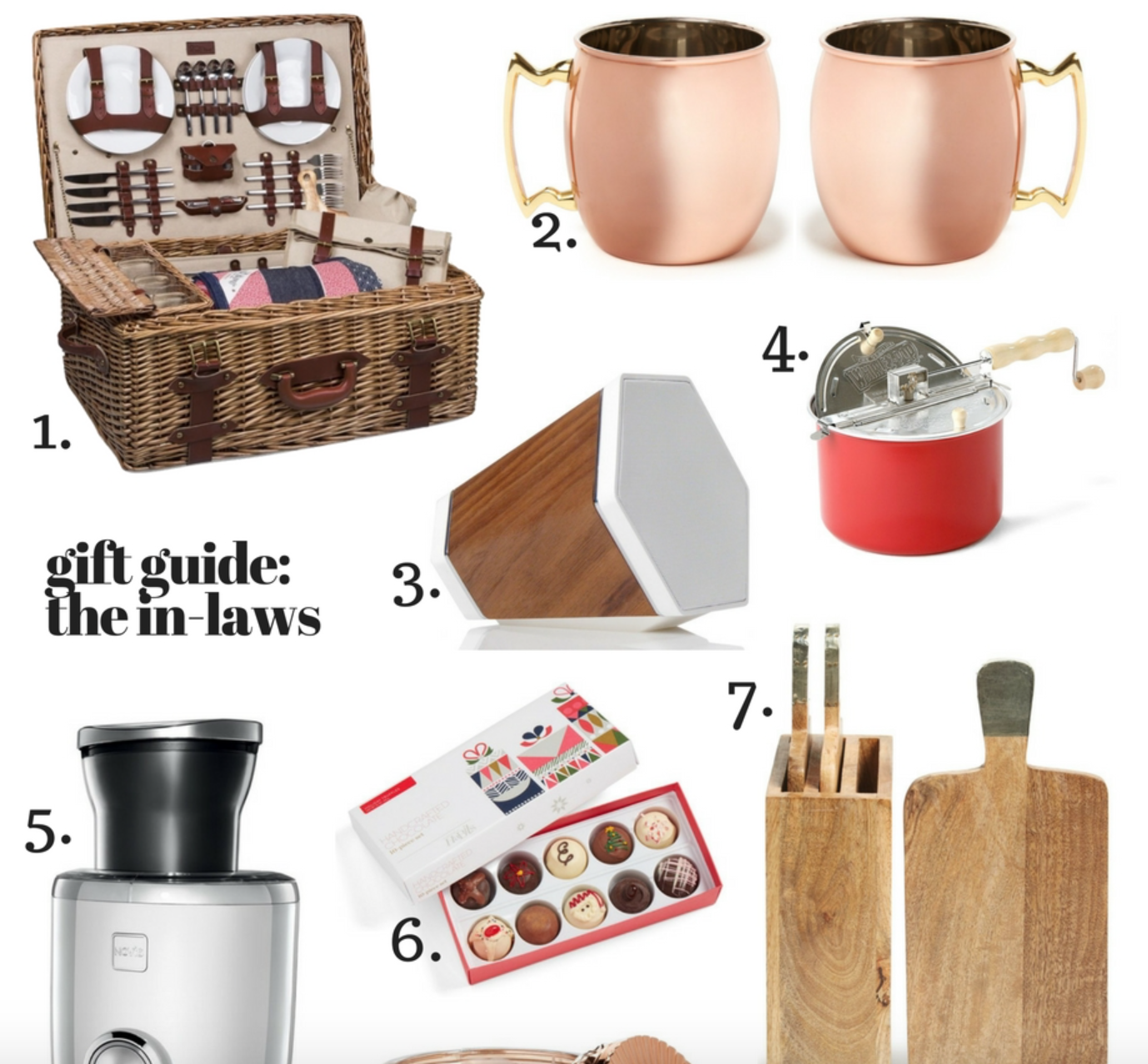 Gift Guide: The In-Laws