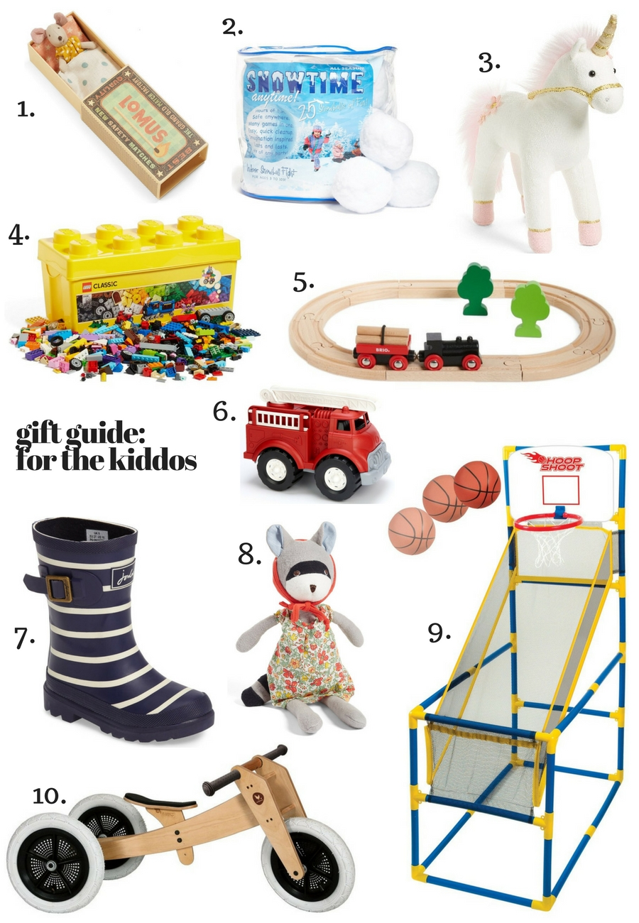 Gift Guide: For the Kiddos