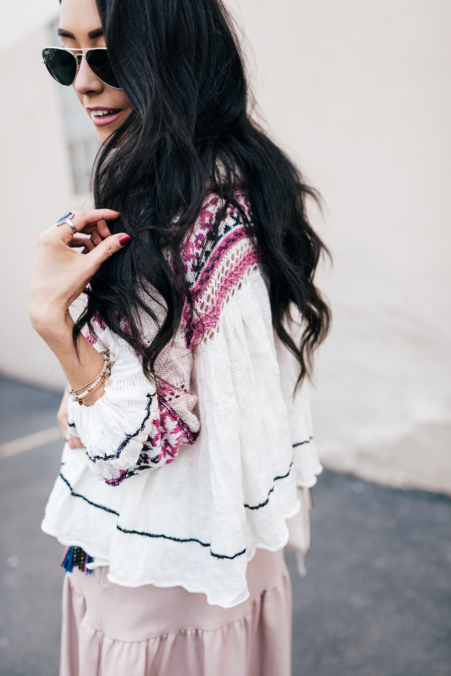 Flowy Dress and Cardigan
