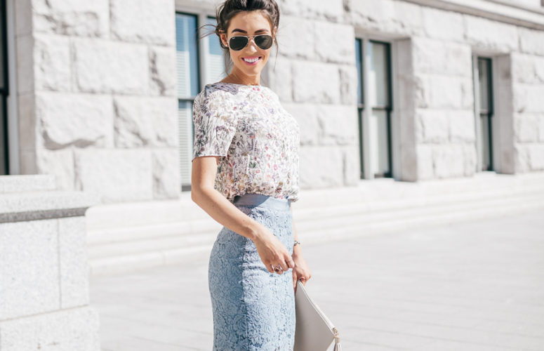 Lace Skirt for Easter