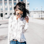 How to Style Floral Blouses