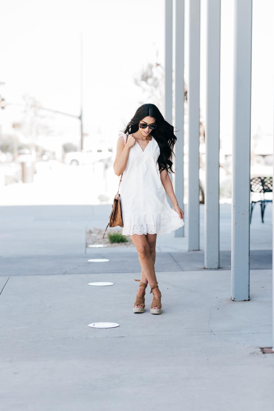 White Eyelet Dresses