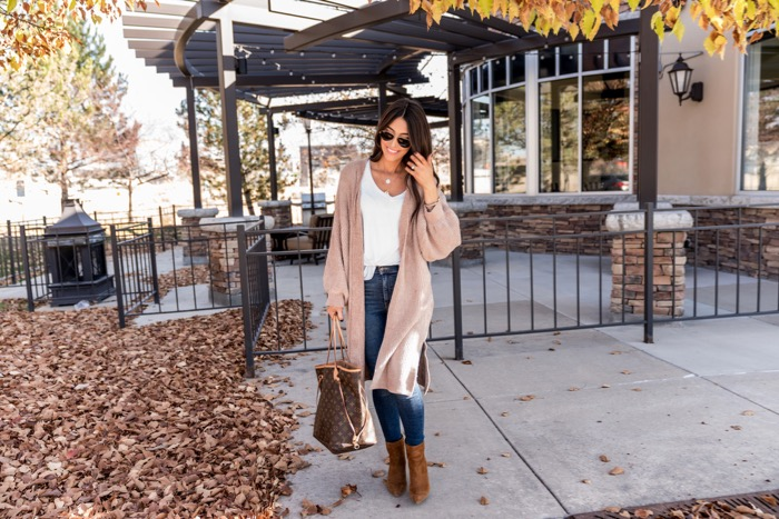 brittany maddux blog. chenille sweater
