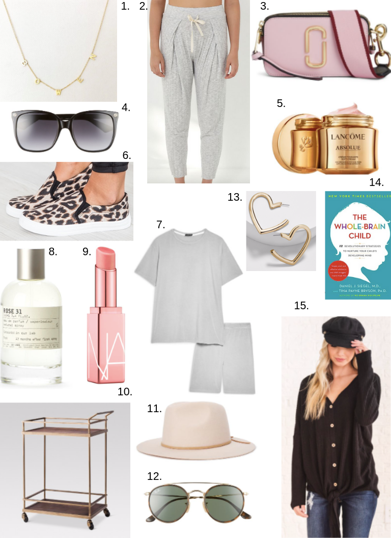 February Favorite things collage